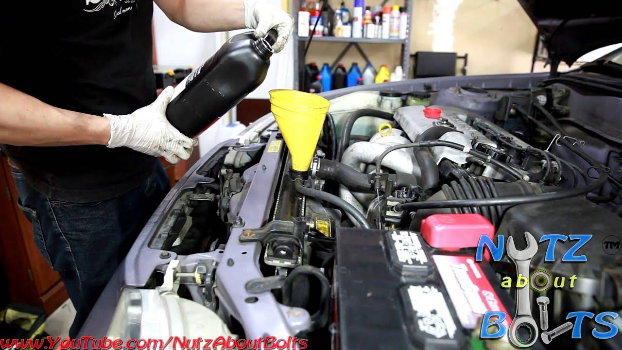 1993 2008 Toyota Corolla Complete Coolant Flush Youtube