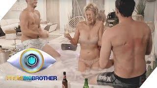 Teamgeist auf der Baustelle, Läster-Alarm in der Villa   Tag 9   Promi Big Brother 2018   SAT.1