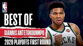 Best Of Giannis Antetokounmpo | 2020 NBA Playoffs First Round