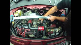Time Lapse: Removing EGR on a 4A-GZE MR2