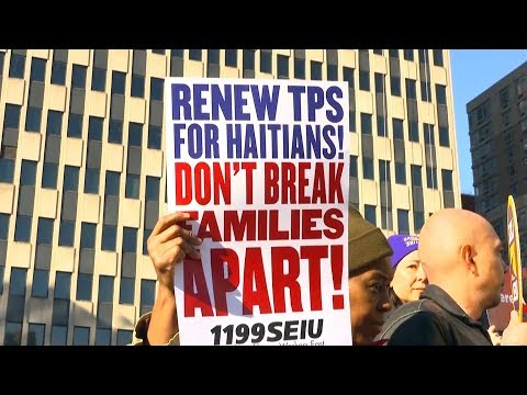 Facing Mass Deportation, Haitians Sue Trump to Preserve Temporary Protected Status