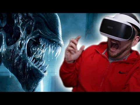 Aliens in virtual reality! PLAYSTATION VR WORLDS GAMEPLAY