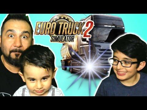 EURO TRUCK SIMULATOR 2 #1 | TEZEK TAŞIYORUZ!