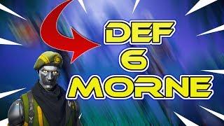 DEF MORNE 6 FORTNITE SAUVER THE WORLD