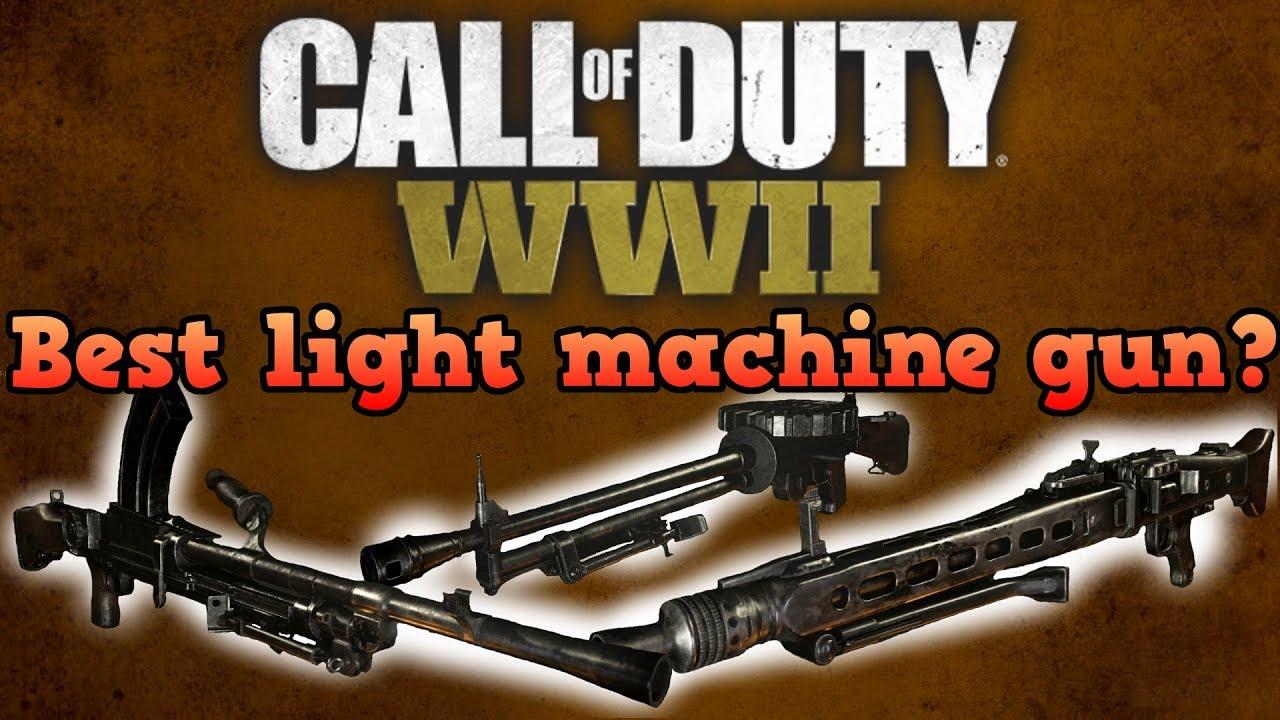 Best light machine gun! - Call of duty world war 2 guides ...
