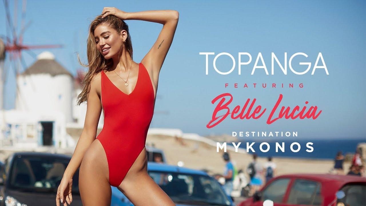 7798fc24e4dc7 Topanga Swim | DESTINATION MYKONOS ft. Belle Lucia 🇬🇷. City Beach