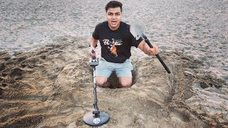 I Went Metal Detecting At The Beach & You Wont Believe What I Found! ($19,999 TREASURE FIND)