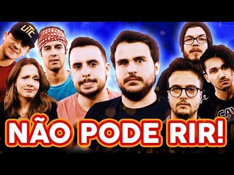 NÃO PODE RIR! com Damiani, Rolandinho, Jack Freitas e Gaybol