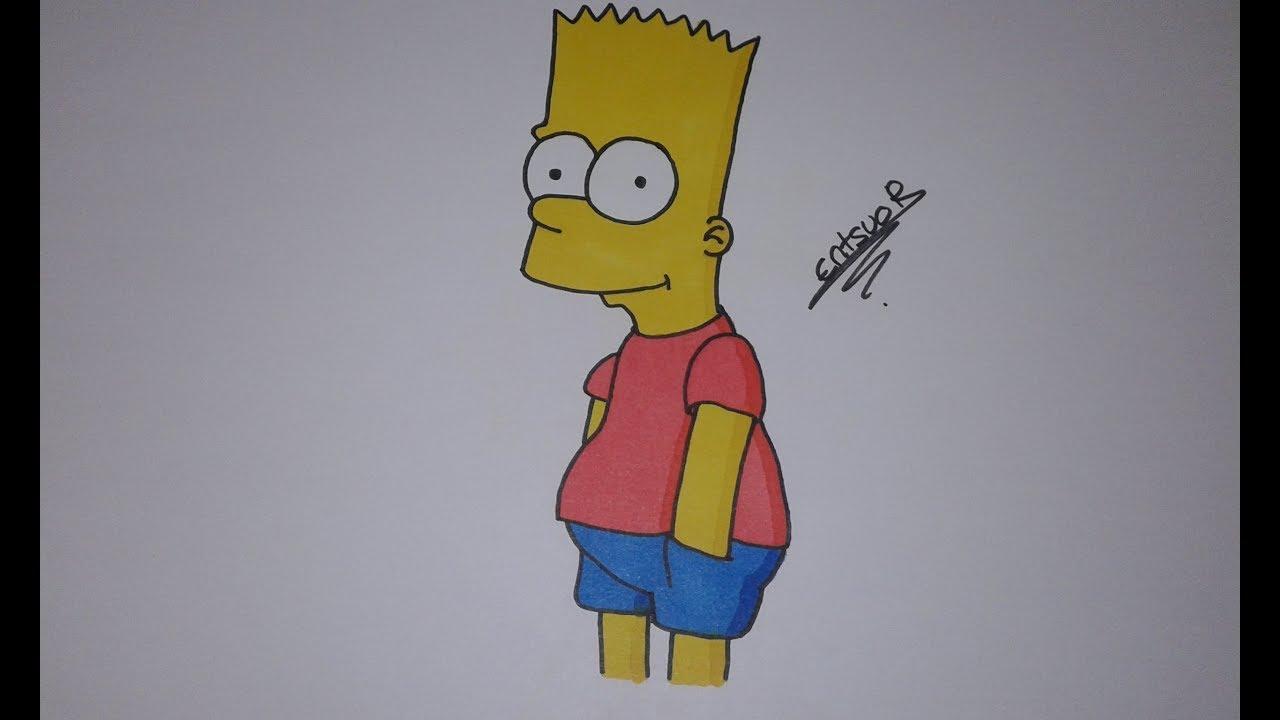 Dessiner bart simpson - Comment dessiner bart simpson ...