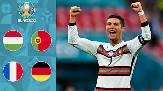 Роналду ГЕНИЙ Венгрия Португалия У Лева НЕТ ИДЕЙ Франция Германия Обзор ЕВРО 2020