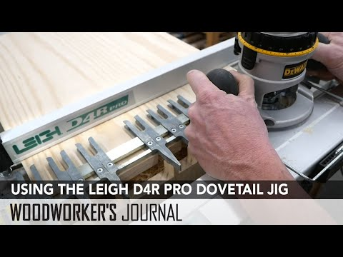 How to Use the LEIGH D4R Pro Dovetail Jig