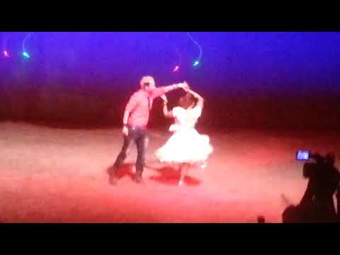 Couple Dance in Kusume Rumal - Kathmandu Model College KMC Farewell Programme