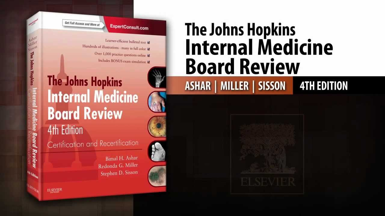 The Johns Hopkins Internal Medicine Board Review 4th Edition Youtube