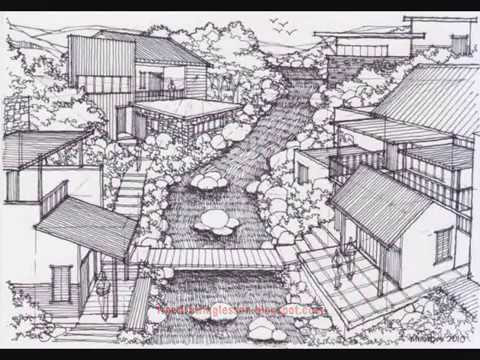 Anime Scenery Drawing