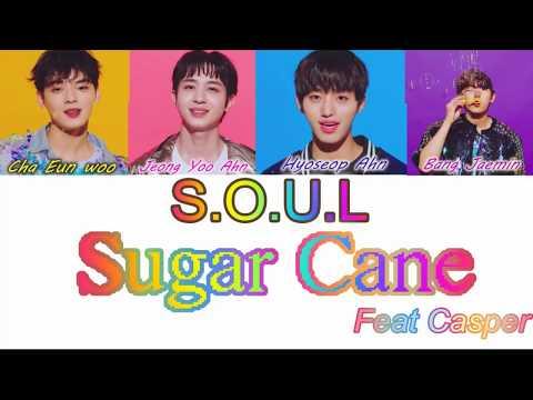 S.O.U.L. - SUGAR CANE feat. Casper [Color Coded Lyrics]