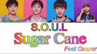 S.O.U.L. - SUGAR CANE feat. Casper [Color Coded Lyrics]