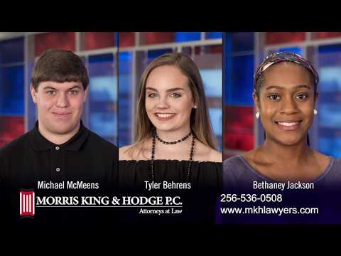 Morris, King & Hodge P. C. 2017 Annual Driver Safety Scholarship Winners