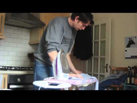 Ironing ten shirts