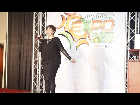 Colleen Lindberg - The Toronto Caribbean Business Expo 2015