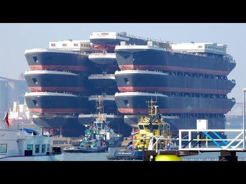 هذه أكبر سفينة على وجه الأرض تزن أكثر من 225,000 ألف طن