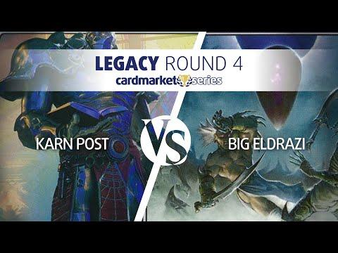 Cardmarket Series Frankfurt – Legacy Round 4:  Karn Post vs Big Eldrazi