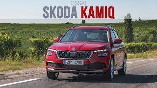 Skoda Kamiq : 1er essai en vidéo