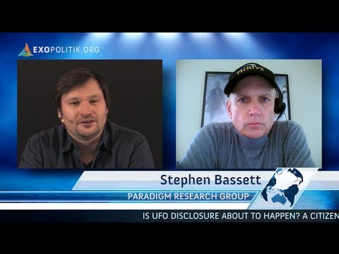 Citizen Hearing: Is UFO disclosure about to happen? Interview with Steve Bassett (PRG)