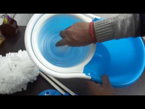How to use MOP for Cleaning Floor - Video Demo in hindi