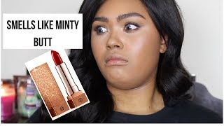 THIS...SMELL...THO??? TRYING THE NAKEUP FACE C-CUP LIPSTICKS| REVIEW, SWATCHES, DEMO| KennieJD