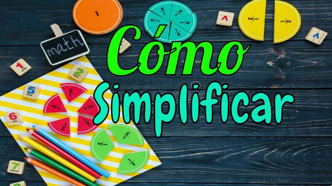 SIMPLIFICACIÓN DE FRACCIONES - Ejercicios - YouTube