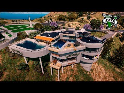 GTA V Editor De Mapas - LAS CASAS MAS EXCLUSIVAS Y LUJOSAS DEL MUNDO - ElChurches