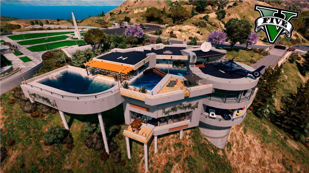 Gta v editor de mapas las casas mas exclusivas y lujosas for Las casas mas grandes y lujosas del mundo