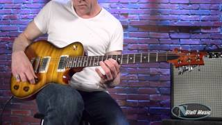 Prs Stripped 58 Electric Guitar In Amber Black | N Stuff Music Product Review