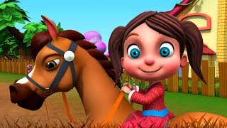 Chal Mere Ghode | चल मेरे घोड़े टिक टिक टिक | Hindi Rhymes Nursery | Rhymes in Hindi | Hindi Kavita