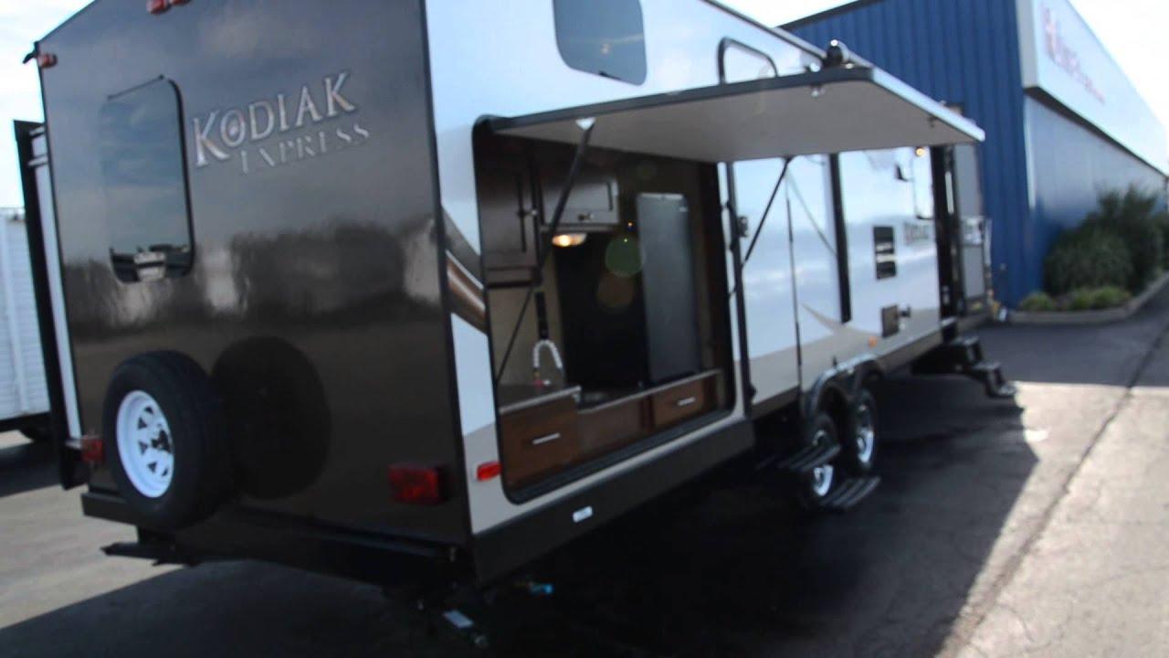 2014 kodiak 299bhsl travel trailer youtube