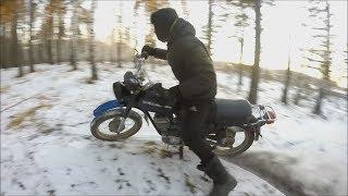обзор Мотоцикла МИНСК 1989/Тест-драйв