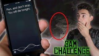 DO NOT TALK TO SIRI AT 3AM ON CLINTON ROAD // 3 AM CHALLENGE ON WORLD