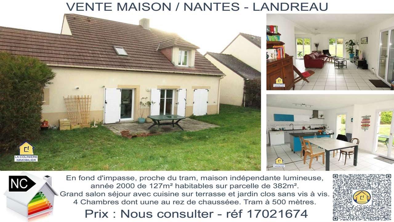 17021674 - Vente maison sur Nantes (44300) Landreau
