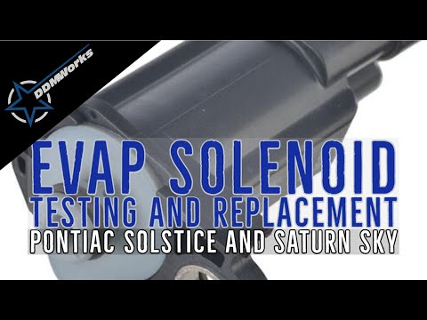 DDMWorks EVAP Solenoid Testing And Replacement On Ecotec Engines