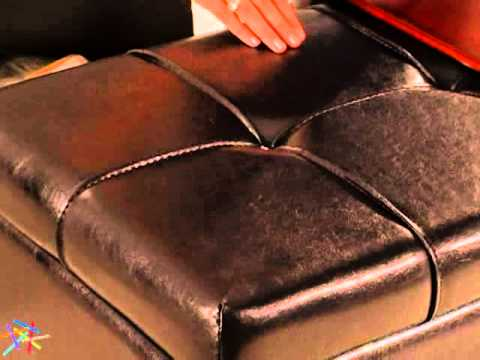Livingston Storage Ottoman with Tray Tables - Product Review Video - Livingston Storage Ottoman With Tray Tables - Product Review Video