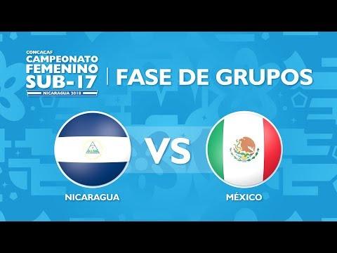 CU17W: Nicaragua v Mexico