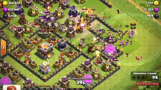 Clash of Clans // TH 11 Trophy Pushing Base 2018 defence log