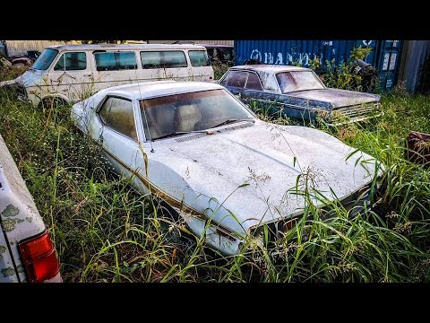 WILL THEY RUN? Junkyard First Starts After Years of Sitting