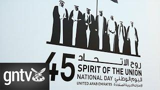 The UAE celebrates 45th National Day