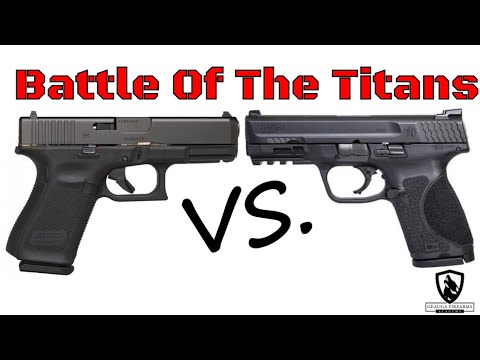 Glock 19 Gen 5 Vs. M&P9 M2.0 Compact | Battle Of The Titans