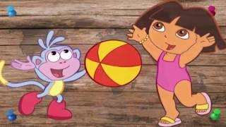 Dora la Exploradora - abecedario en español para niños videos infantil educativos