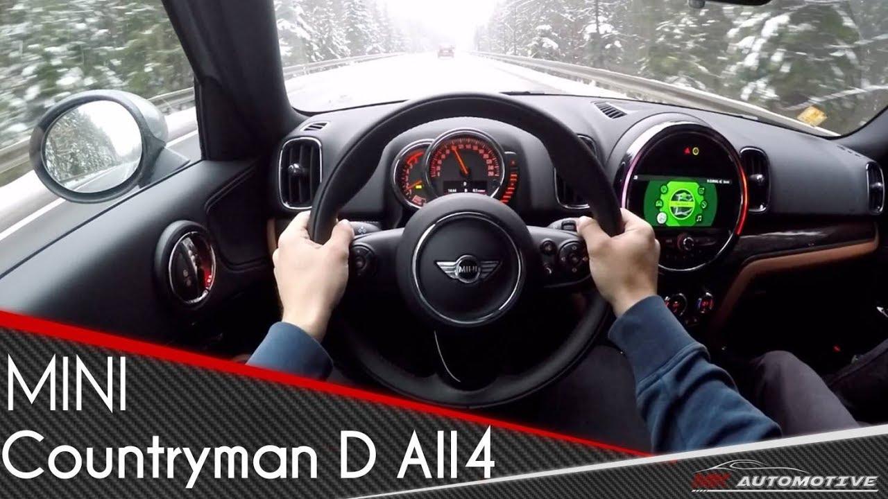 Mini Cooper D Countryman All4 Pov Test Drive Acceleration 0 200