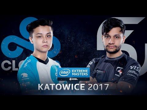 CS:GO - Cloud 9 Vs. SK Gaming [Nuke] - IEM Katowice 2017 - Group B