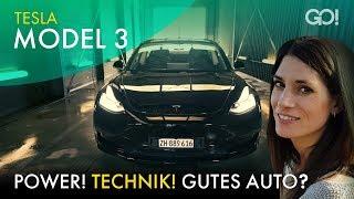 Tesla Model 3 - Revolution oder Reinfall? | Cyndie Allemann testet