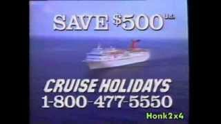 1993 - Carnivale Cruise Lines TV Commercial